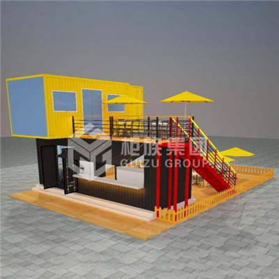 Two Storey Container Restaurant